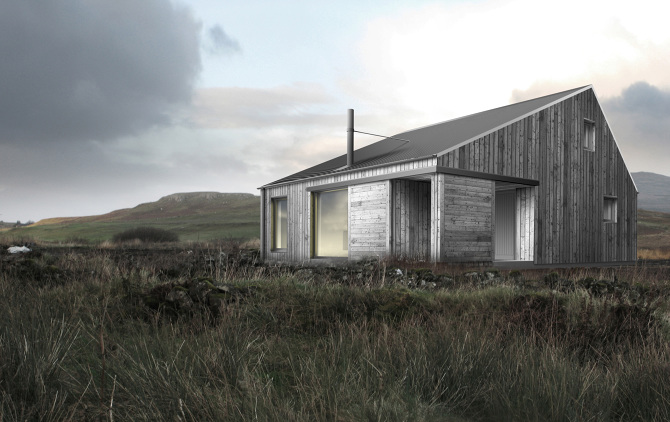 our island home rural design architects isle of skye